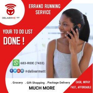 DeliverMe TT Errand Flyer